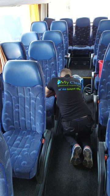 Καθαρισμός Τουριστικού Λεωφορείου
