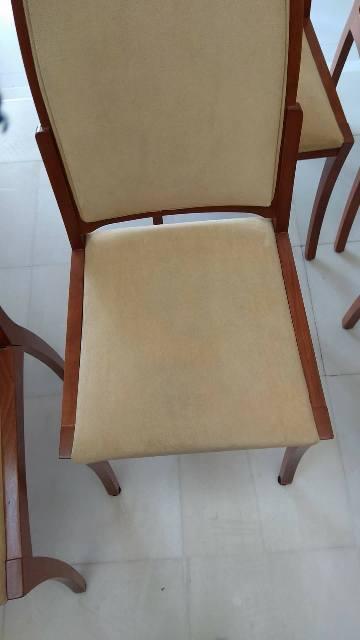 Βιολογικός καθαρισμός σε καρέκλες τραπεζαρίας