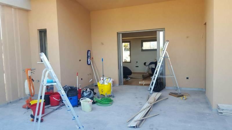 Αρχικός καθαρισμός οικίας