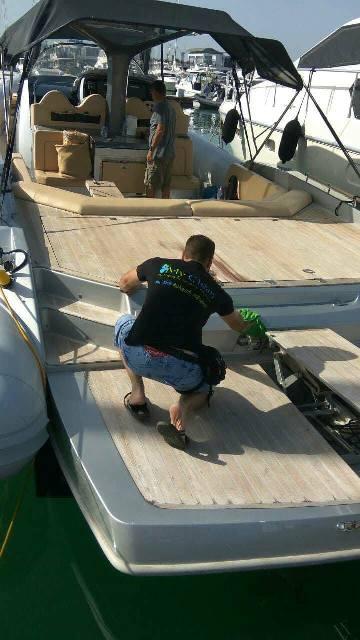 Καθαρισμός Σκάφους