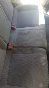 Βιολογικός καθαρισμός αυτοκινήτου - Καθίσματα Πριν