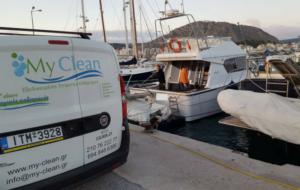 Καθαρισμός σκάφους My Clean - 8