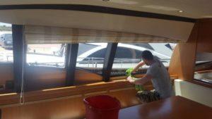 My Clean- Καθαρισμός πολυτελούς σκάφους 27