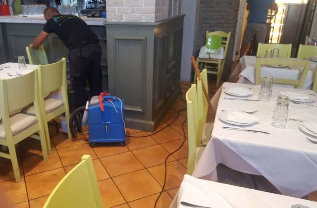 Βιολογικός καθαρισμός σε εστιατόριο