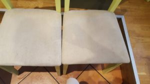 Βιολογικός καθαρισμός σε καρέκλες εστιατορίου - My Clean