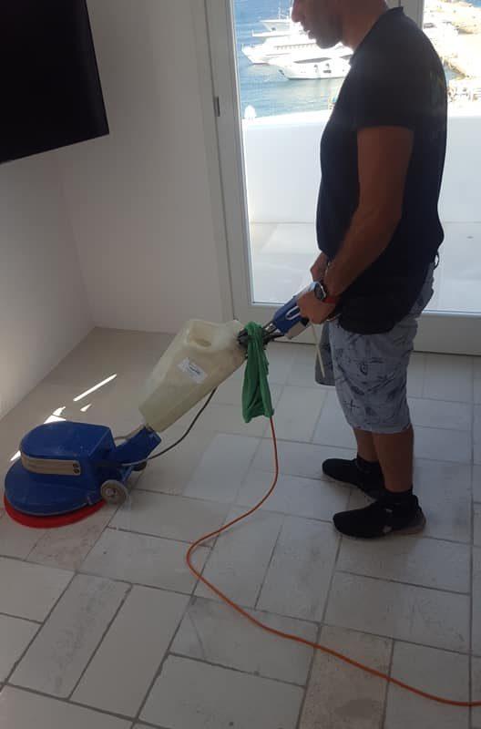 Καθαρισμός Ξενοδοχείου στη Μύκονο